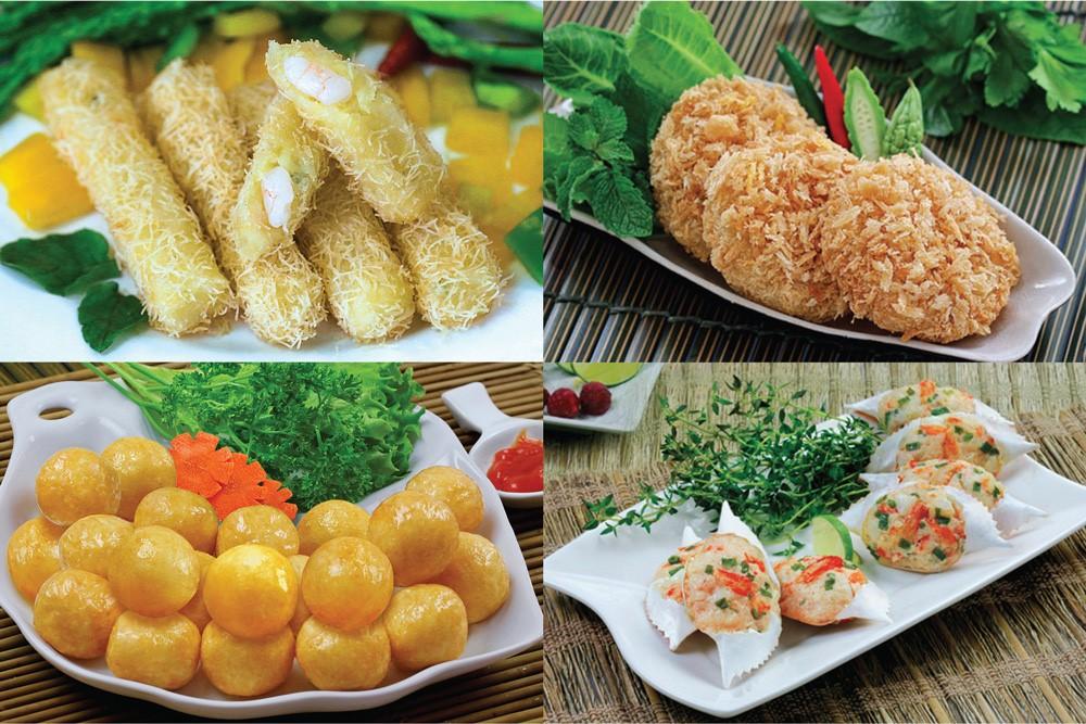 Một số sản phẩm của Nông nghiệp Hùng Hậu